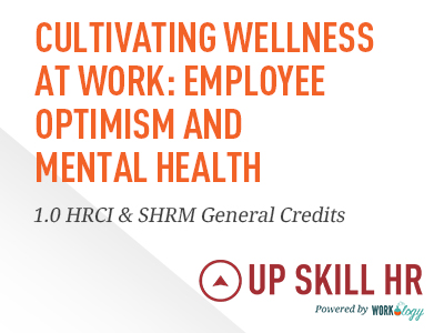 Employee Optimism and Mental Health