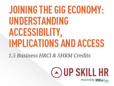 Joining the Gig Economy- Understanding Accessibility, Implications and Access