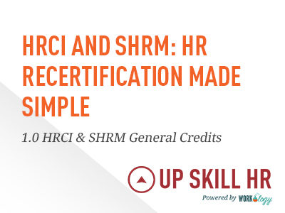 HR Recertification