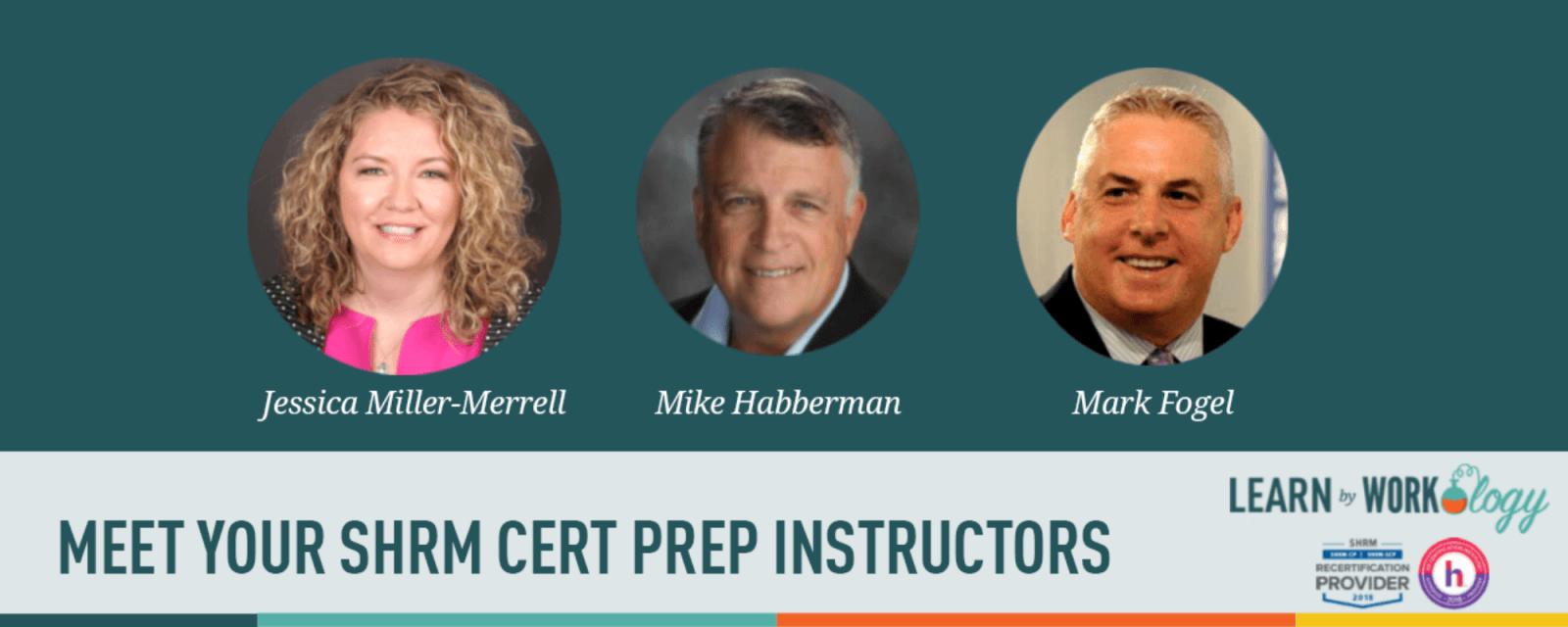 SHRM Cert Instructors