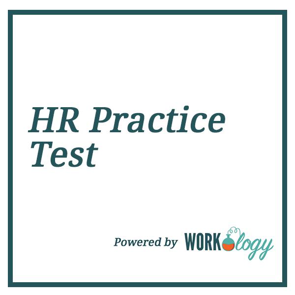 HR Practice Test Thumbnail