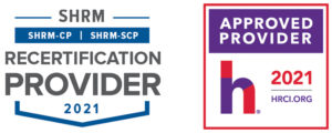 SHRM Recertification Provider CP-SCP Seal 2021 Master